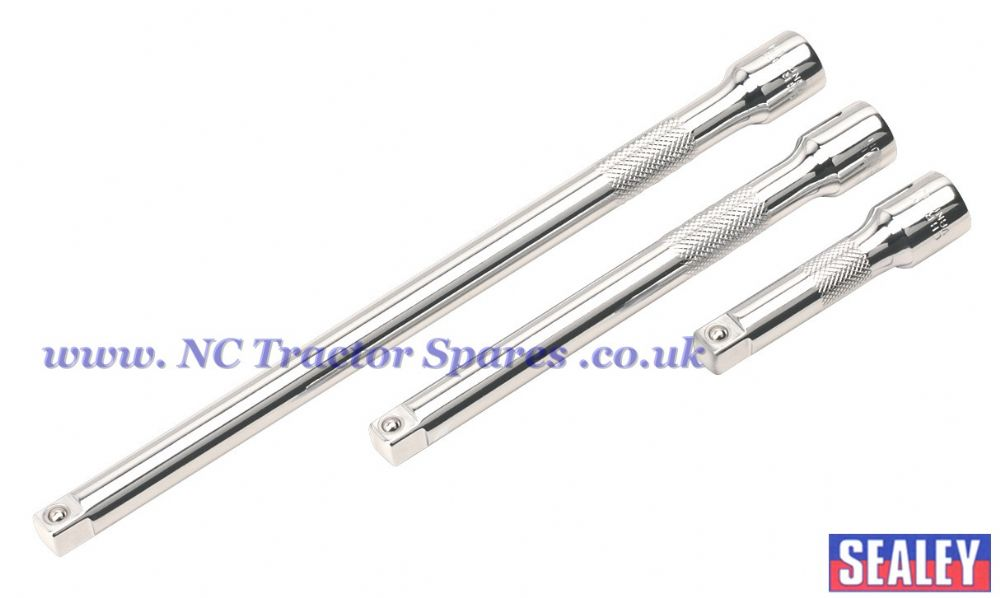 "Extension Bar Set 3pc 3/8""Sq Drive"
